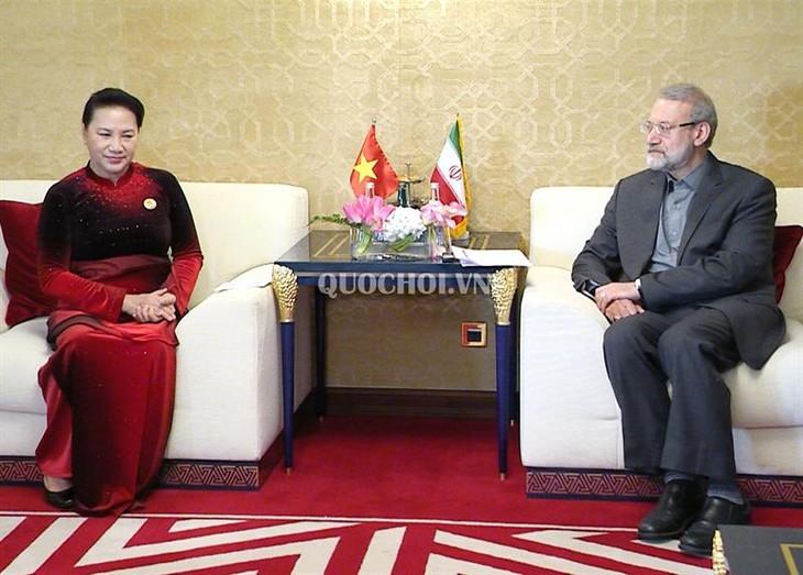 Vietnam selalu menghargai hubungan persahabatan dan kerjasama yang saling menguntungkan dengan Iran - ảnh 1