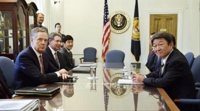 AS-Jepang mengawali perundingan perdagangan - ảnh 1