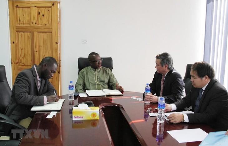 Memperkuat perkembangan kerjasama ekonomi - perdagangan Vietnam - Gambia - ảnh 1