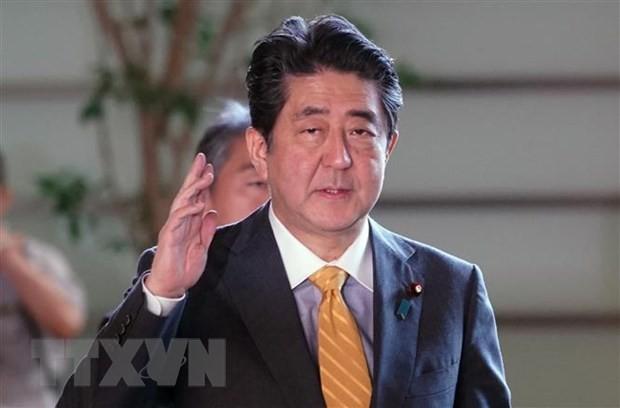 PM Jepang, Shinzo Abe mengunjungi Eropa dan Amerika Utara - ảnh 1