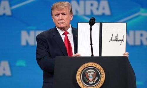 AS akan menarik diri dari Traktat Perdagangan Senjata Internasional PBB - ảnh 1