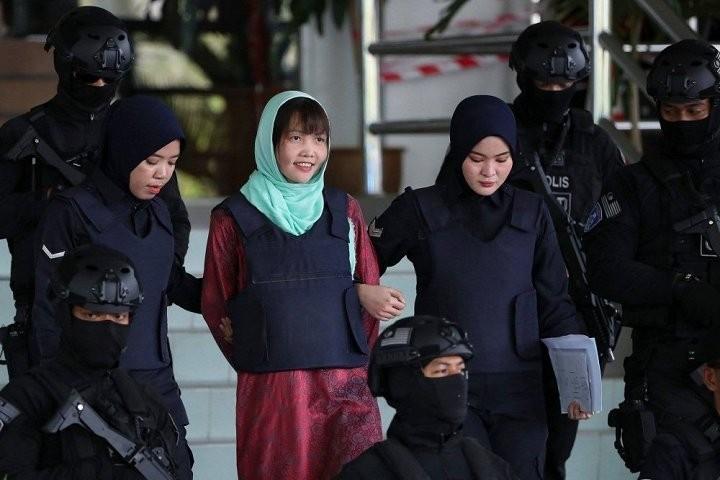 Doan Thi Huong meninggalkan penjara di Negara Bagian Selangor, Malaysia - ảnh 1