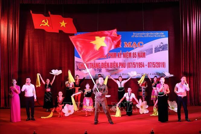 Aktivitas-aktivitas yang bergelora memperingati ultah ke-65 Kemenangan Dien Bien Phu - ảnh 1