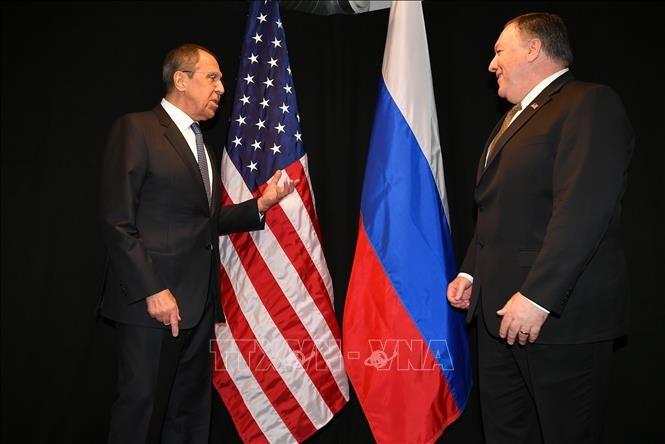 Menlu Rusia dan AS membahas banyak masalah panas - ảnh 1