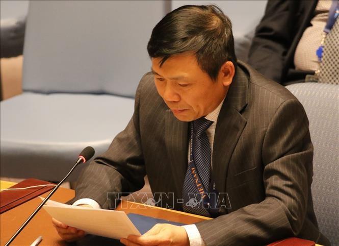 Vietnam berseru memperhebat pekerjaan pelatihan dan membangun kemampuan pasukan penjaga perdamaian PBB - ảnh 1