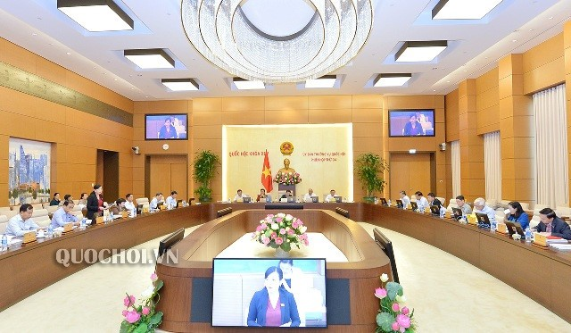 Meneruskan agenda persidangan ke-34 Komite Tetap MN - ảnh 1