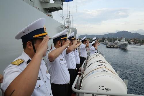 Latihan lapangan tentang keamanan maritim ADMM+ - ảnh 1