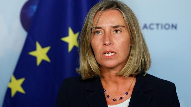 Uni Eropa berseru supaya menghindari eskalasi militer dalam masalah Iran - ảnh 1