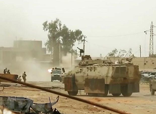 Uni Eropa mendesak para pihak di Libia mengadakan kembali dialog politik - ảnh 1