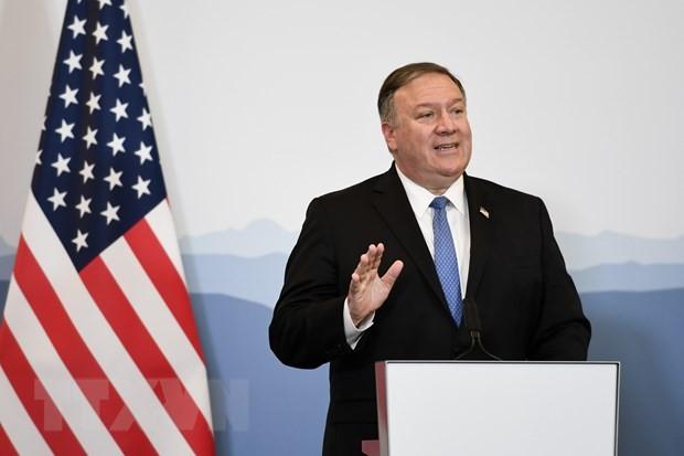 """Menlu AS, Mike Pompeo: """"Kasus-kasus peluncuran rudal RDRK """"mungkin"""" telah melanggar resolusi PBB - ảnh 1"""