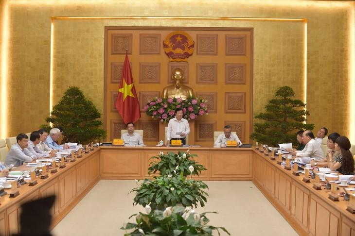 Sidang pertama Badan Pengarahan Nasional urusan IUU - ảnh 1