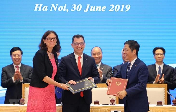 Badan usaha Jepang: EVFTA membuka banyak peluang investasi di Vietnam  - ảnh 1