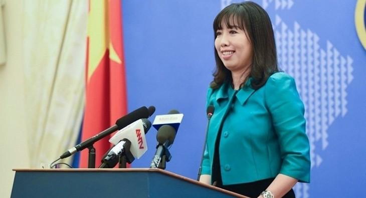 Vietnam bersedia melakukan dialog dengan AS tentang perbedaan tentang HAM - ảnh 1