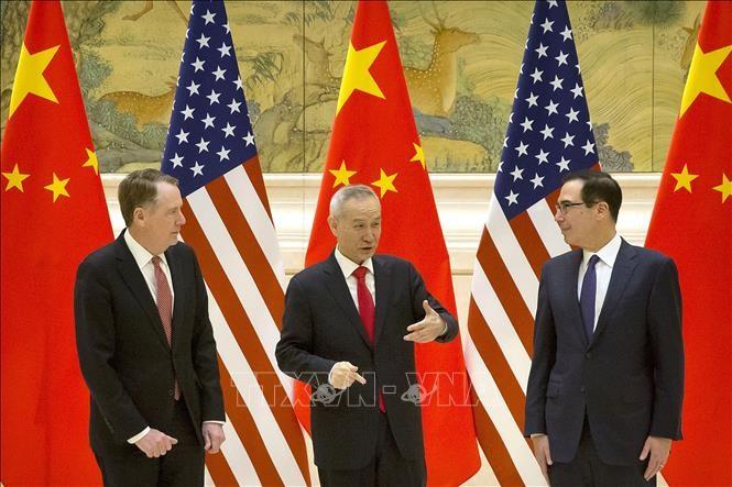 AS - Tiongkok mempercepat mengadakan kembali perundingan dagang - ảnh 1