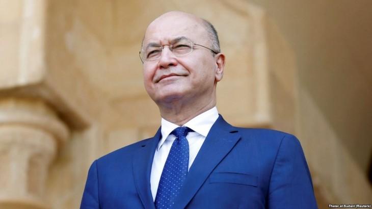 Presiden Irak berkomitmen akan membela perutusan-perutusan diplomatik - ảnh 1