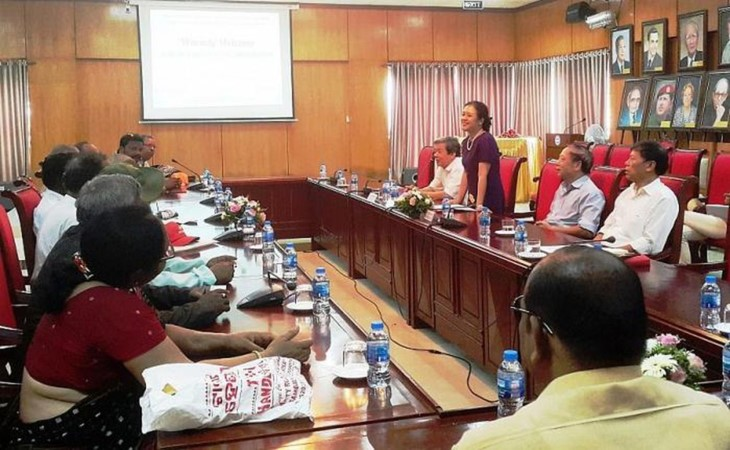 Memperkuat temu pergaulan kebudayaan dan rakyat Vietnam-India - ảnh 1