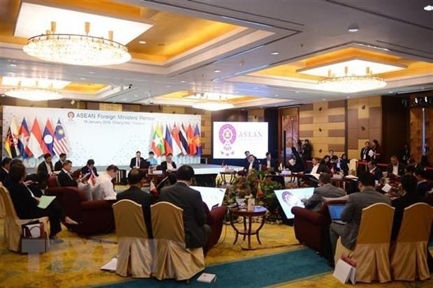 Thailand mempercepat pekerjaan mempersiapkan Konferensi Menlu ASEAN - ảnh 1