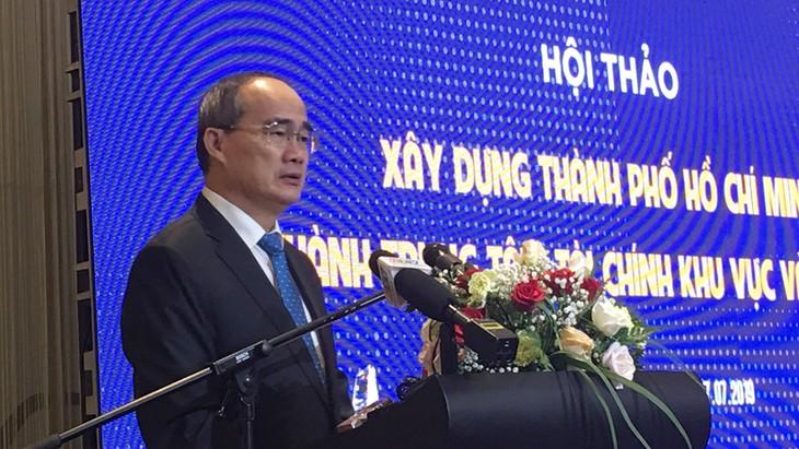 Membangun Kota Ho Chi Minh menjadi Pusat keuangan regional dan internasional - ảnh 1