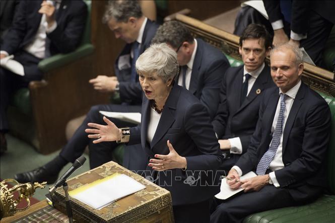 Masalah Brexit: PM Theresa May merasa kecewa karena banyak menteri tidak ikut serta pada pemberian suara penting - ảnh 1