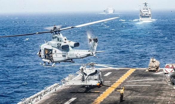 Reaksi negara-negara di sekitar ketegangan di Selat Hormuz - ảnh 1