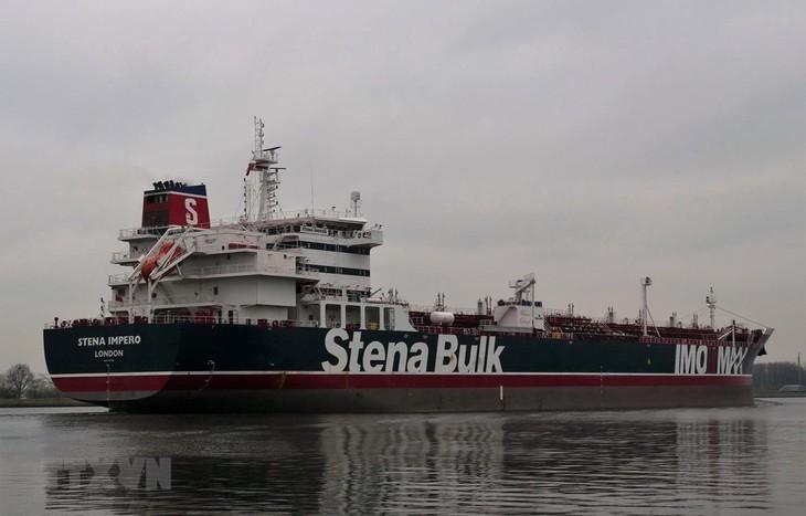 "Iran: Semua kelasi kapal tanker ""Stena Impero"" sehat-sehat - ảnh 1"