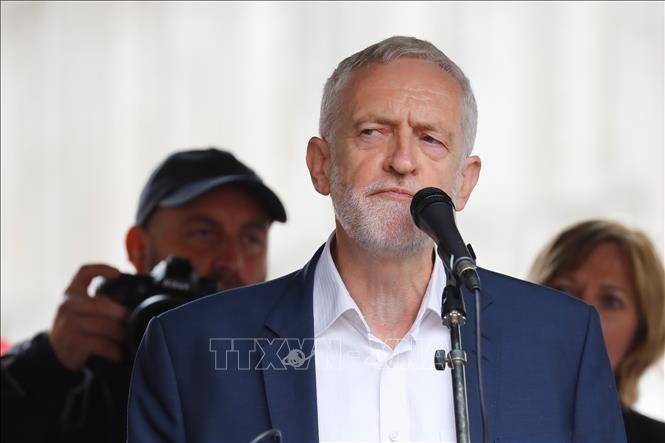 Masalah Brexit: Pemimpin Partai Buruh Inggris berkomitmen mencegah Brexit tanpa permufakatan - ảnh 1