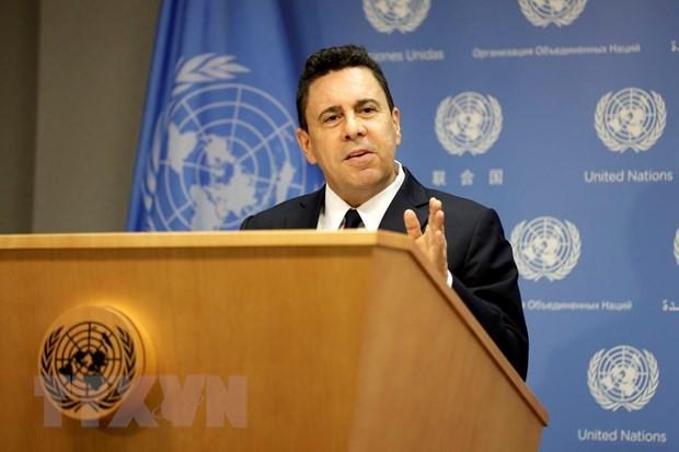 Venezuela meminta kepada PBB supaya memberikan reaksi terhadap perintah embargo AS - ảnh 1