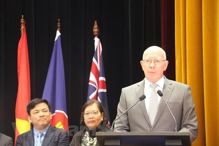 Upacara peringatan ultah ke-52 berdirinya ASEAN di Australia - ảnh 1