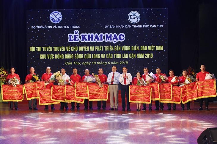 Kontes propaganda tentang kedaulatan dan pengembangan yang berkelanjutan dari laut dan pulau Vietnam - ảnh 1