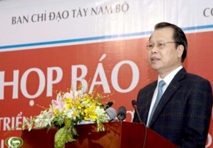 Konferenz über die Aufgaben der Provinzen im Mekong-Delta - ảnh 1