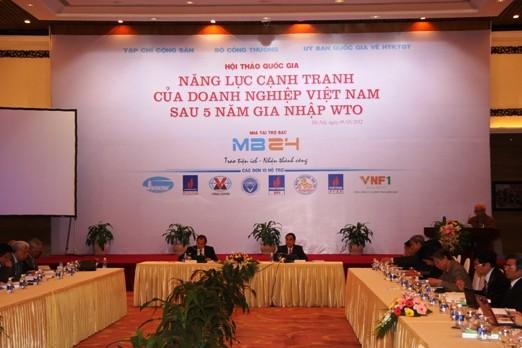 Fortschritte der vietnamesischen Unternehmen nach dem WTO-Beitritt - ảnh 1
