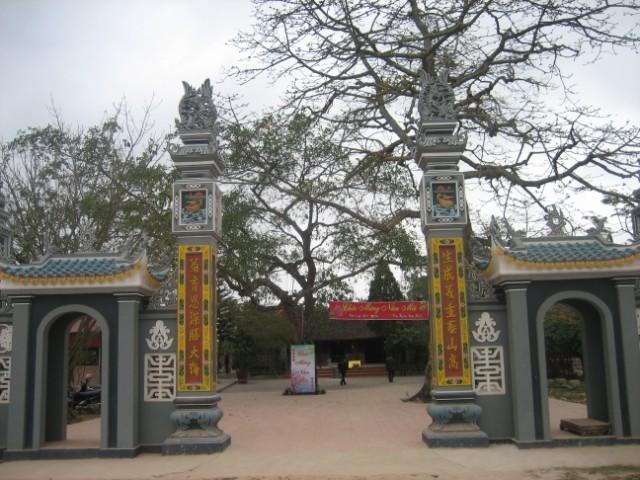 Legendäre Geschichte über Gedenkstätte Den Cao in Hai Duong  - ảnh 1