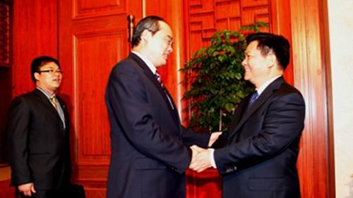 Zusammenarbeit zwischen Grenzprovinzen Vietnams und Chinas Provinz Yunnan - ảnh 1