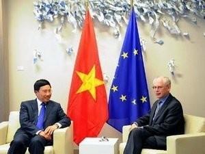 Vietnam unterzeichnet offiziell das Partnerschaftsabkommen mit der EU - ảnh 1
