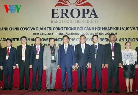 Premierminister Nguyen Tan Dung hält Rede auf der EROPA-Konferenz - ảnh 1