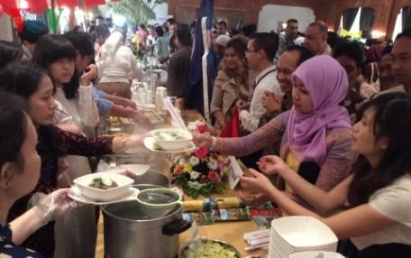 Vietnam beteiligt sich am kulinarischen Tag der ASEAN in Ägypten  - ảnh 1