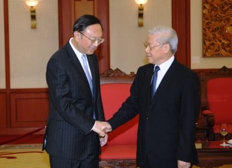 Vietnam und China entwickeln ihre umfassende Zusammenarbeit im Interesse beider Völker - ảnh 1