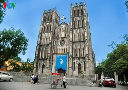 Zehn typische Architektureinrichtungen der Geschichte Hanois - ảnh 19