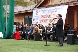 Sportfestival der vietnamesischen Studenten im russischen Moskau - ảnh 1