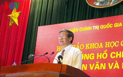 Seminar über die Ideologie Ho Chi Minhs - ảnh 1