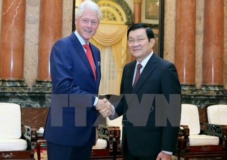 Staatspräsident Truong Tan Sang nimmt an der Konferenz über Geschlechtergleichheit teil - ảnh 2