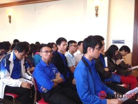 Jugendverband sammelt Meinungen für Dokumente des 12. Parteitags - ảnh 1