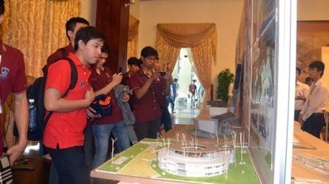 Studenten aus 17 Hochschulen in Asien nehmen an dem Architektur-Wettbewerb in Vietnam teil - ảnh 1