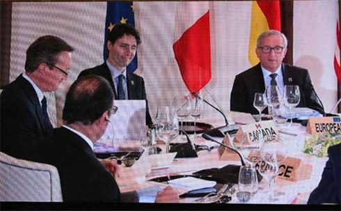 G7-Mitglieder beraten über globale Fragen - ảnh 1