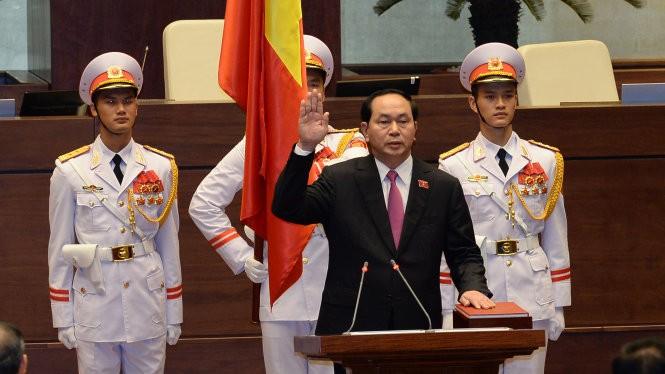 Staatspräsident Tran Dai Quang vereidigt - ảnh 1