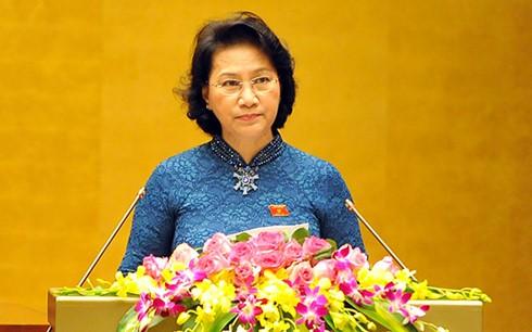 Die erste Sitzung des Parlaments der 14. Legislaturperiode hat die geplanten Ziele erreicht - ảnh 1