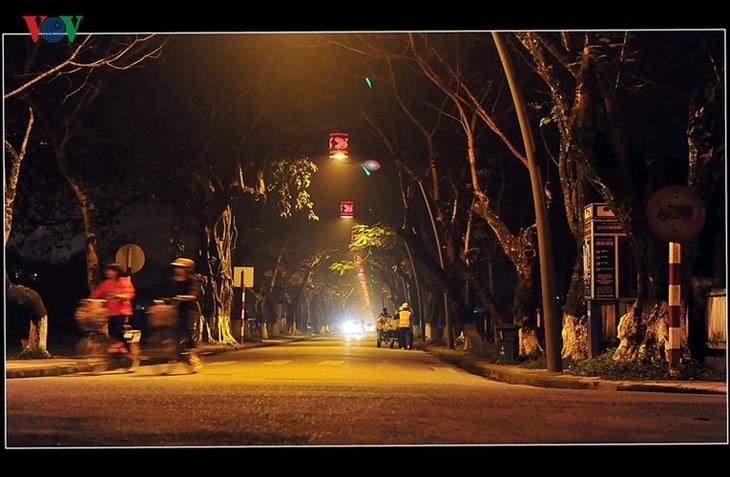 Die Schönheit der Kaiserstadt Hue in der Nacht - ảnh 14