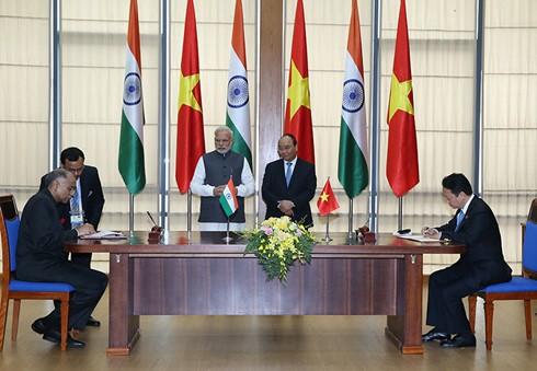 Gemeinsame Erklärung zwischen Vietnam und Indien - ảnh 1