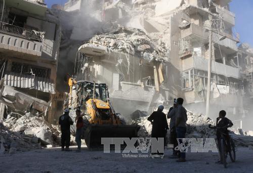 UNO überlegt Verhängung eines Waffenstillstands in Syrien  - ảnh 1