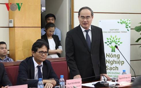 Vorsitzender der Vaterländischen Front Vietnams: Saubere Landwirtschaft für Vietnam und für die Welt - ảnh 1